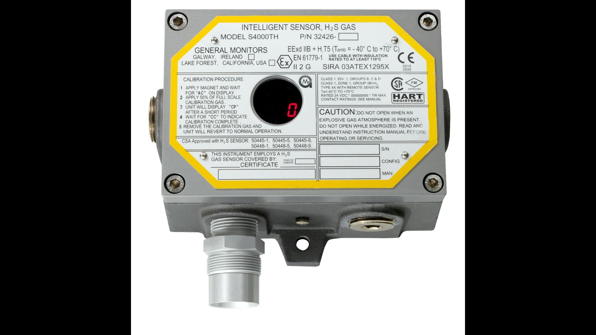 Original Image: General Monitors S4000TH H2S Gas Detector