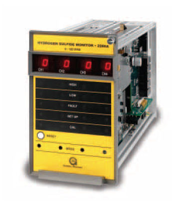 Original Image: General Monitors 2280A Four Channel H2S Gas Monitor
